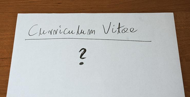 writing a technical cv