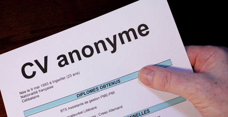 Anonymous CVs: Laudable or laughable?